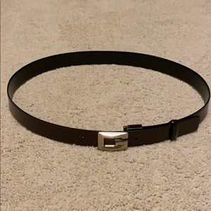 Gucci Reversible Square G Leather Belt